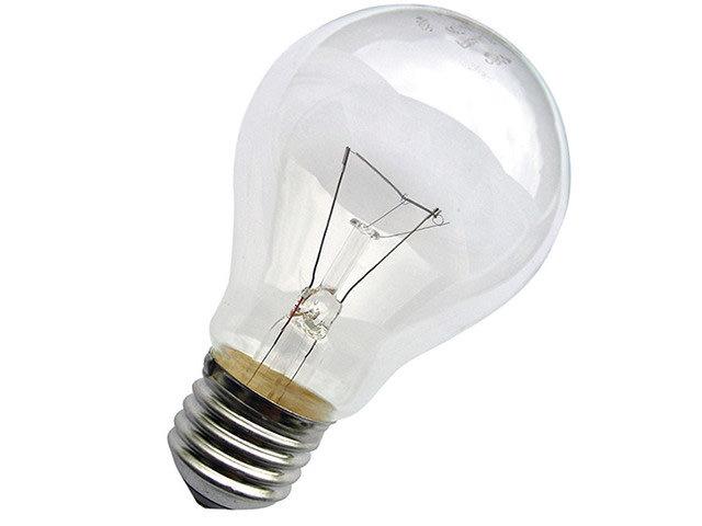 Обычная стандартная лампочка