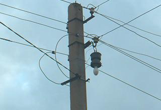 Схема однолинейного подключения электричества на участок