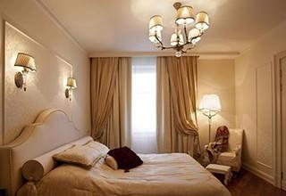 Настенные приборы в спальне
